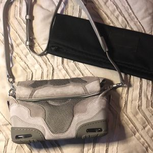 Alexander Wang Small Sneaker Sling in Concrete